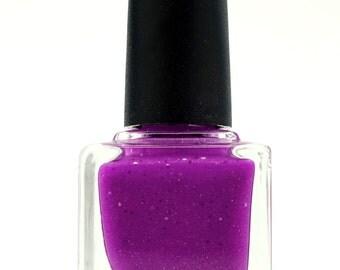 "Neon Purple Nail Polish ""Purple Rose"""