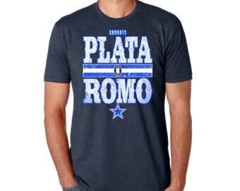Plata O Romo, Dallas Cowboys t-shirt, Narcos Salute, Tony Romo, Trade Deal,
