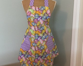 Easter Egg Lined Apron