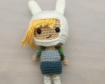 Adventure Time Crocheted Fionna