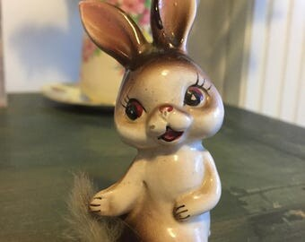 Vintage rabbit ornament
