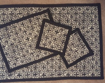 Hot Pad Set: (1) 20x30, (1) 9x13, and (2) traditional