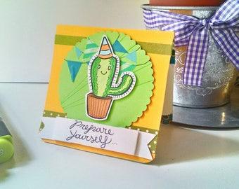 Birthday Card - Cactus