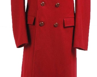 Who is Doctor Dr. Dark Red Long Trench Wool Coat Cosplay Costumes