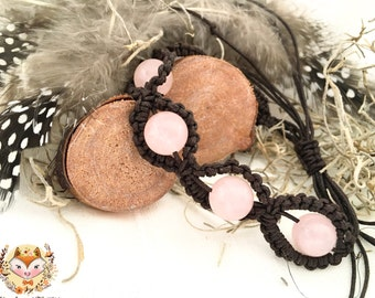 Rosequarz Bracelet
