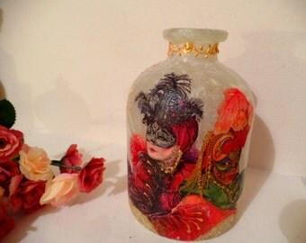 Decorative Vase, chic- Carnevale a Venezia