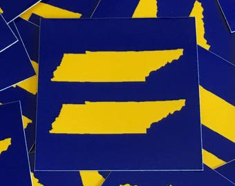 "Equality Sticker  Tennessee 3""x3"""