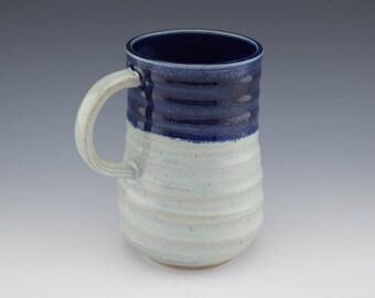 Handmade Ceramic Mug, Coffee Mug, Coffee Cup, Tea Cup, Gift Idea, Wheelthrown, 14 oz