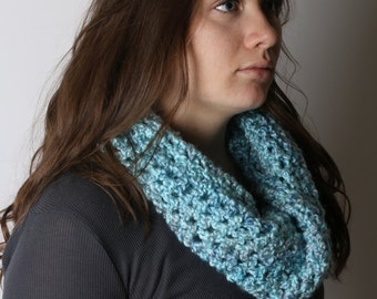 Soft & Simple cowl scarf