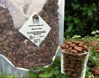 Coffee Beans - Freshly Roasted Brazil Single Origin - whole bean, espresso or cafetiere ground - Dawn Roasters