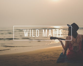 Wild Matte Indie Muse Collection 3 Presets  4 Tool Presets 9 LR Brushes Lightroom Presets for Professional Results by LouMarksPhoto