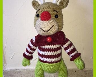 Pattern / tutorial reindeer rudy