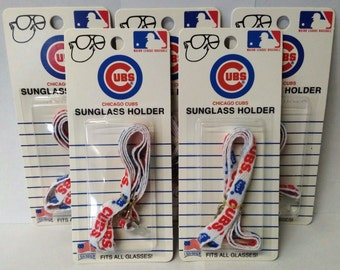 Chicago Cubs 1307 (Sunglass Holders) Fits All Glasses 5 Packs USA