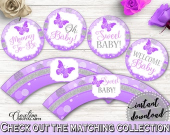 Cupcake Toppers And Wrappers Baby Shower Cupcake Toppers And Wrappers Butterfly Baby Shower Cupcake Toppers And Wrappers Baby Shower 7AANK