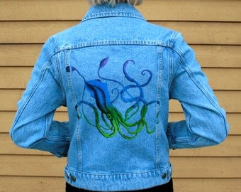 Giant Squid Jean Jacket