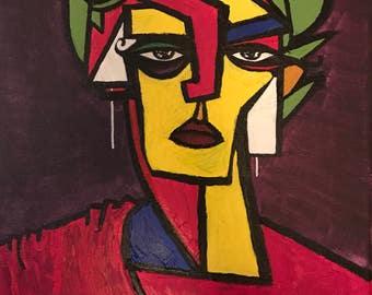 Painting - acrylic - Dante - Benjamin Bosso
