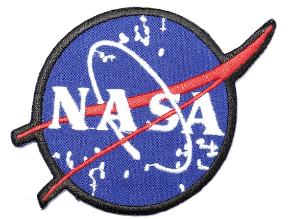 Nasa space station explorer embroidery applique iron on patch