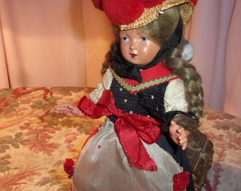 Nice German old doll