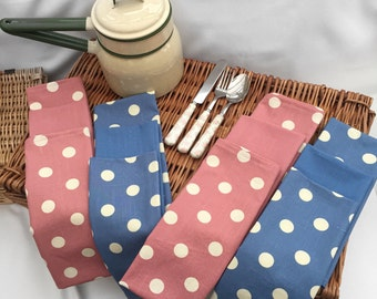 Polka Dot Tea Towels
