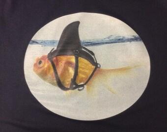 Goldfish Shark T-shirt