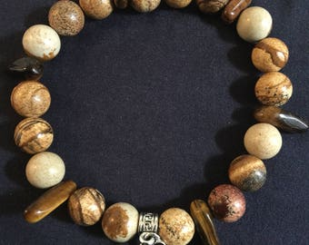 Sticks and Stones Bracelet