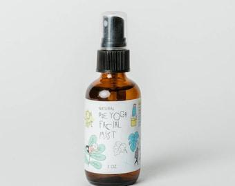 Pre Yoga Facial Mist Spray - Facial Mist Spray - Essential Oil Spray