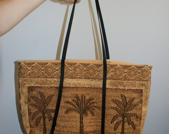 Chinese Palm Tree Bag (Vintage)