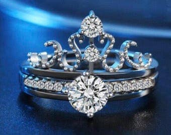 Interchangeable crown ring