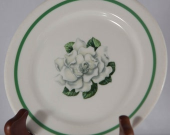 Syracuse China Small Plate 1960 SY323 Style Flower