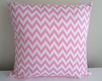 """Pillowcase """"Chevron, pink"""""""