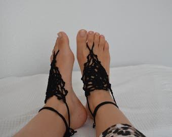 Barefoot sandal, Barefootsandal, bracelets - clover leaf