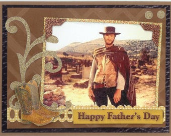 Clint Eastwood Fathers Day Card