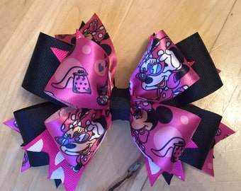 Minnie mouse bow/headband