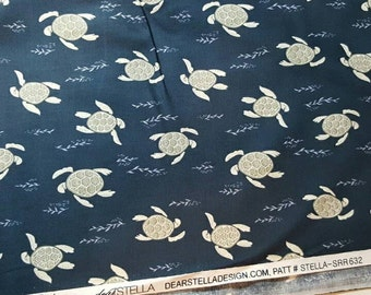 Dear Stella Turtles Yardage