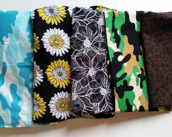 Rice hot pack, cold pack, flower prints, camo, pampering, spa set