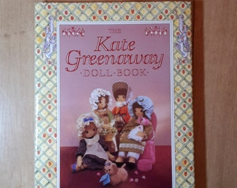 Kate Greenaway Doll Book by Valerie Janitch, Doll Making Book, Doll Making Patterns, Doll Clothes Patterns