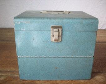 Blue Film Box w/ Folding Lid