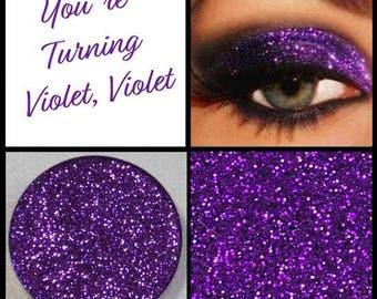 Your Turning Violet, Violet! - Metallic Sparkling Prima Pressed Glitter
