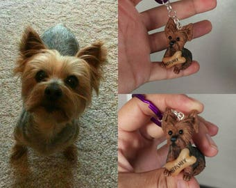 Custom pets ,dogs, cats, birds, etc, key chains and ornaments,pets portrait.