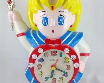 Sailor Moon - Eternal Vintage Clock Good Condition RARE Collector's Item UK Seller