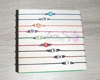 Elegant bracelet with letters