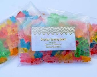 Bacardi Tangerine Gummy Bears