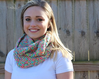 Bright Neon Infinity Scarf