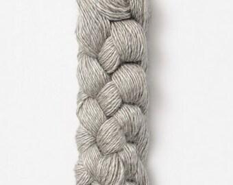 Blue Sky metalico yarn in Platinum - Baby Alpaca / Silk sport weight yarn