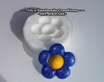 Silicone rubber mould (handmade) ' flower '