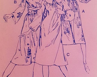 1975 Stretch & Sew 1585 Misses Chemise Dress Sizes 28-42 Uncut FF Sewing Pattern ReTrO GrOOvy!