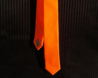 Neon Orange Tie