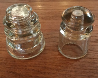 Assorted Vintage Armstrong Glass Insulators