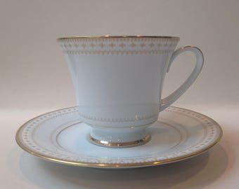 Vintage Noritake Barrington Teacup and Saucer