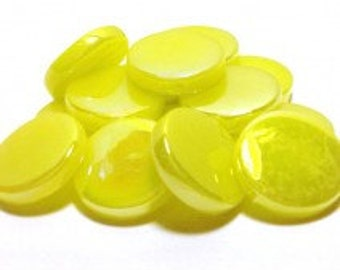 18mm Round Gloss - Lemon Tart Pearlised - 50g